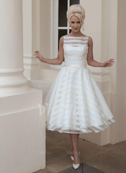 ... Übliche Nein Frühling Sommer Herbst Elfenbein White Brautkleid
