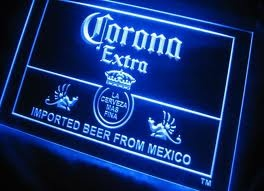 Corona Mexican Beer Neon Bar Sign