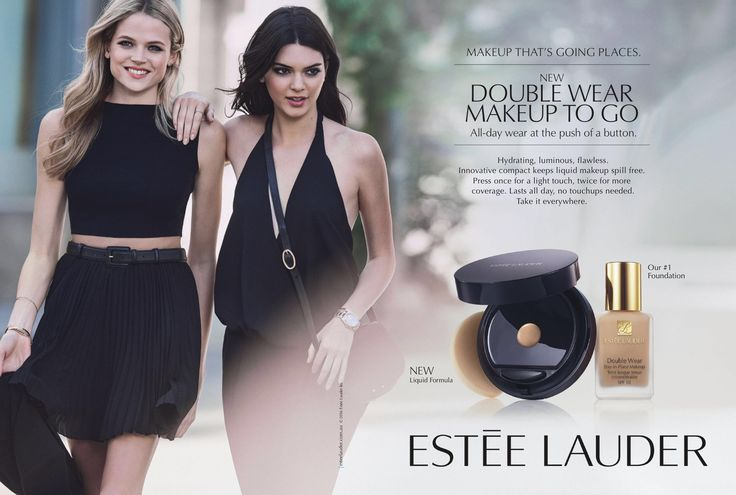 Estée Lauder Cosmetic Advertising