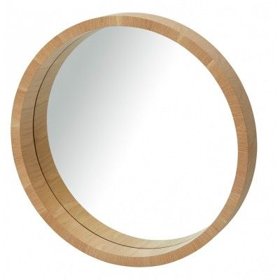 Complete the simplicity of a Scandi decor with the Paloma Mirror. A light oak coloured veneer frame co-ordinates effortlessly with mid century furniture design.