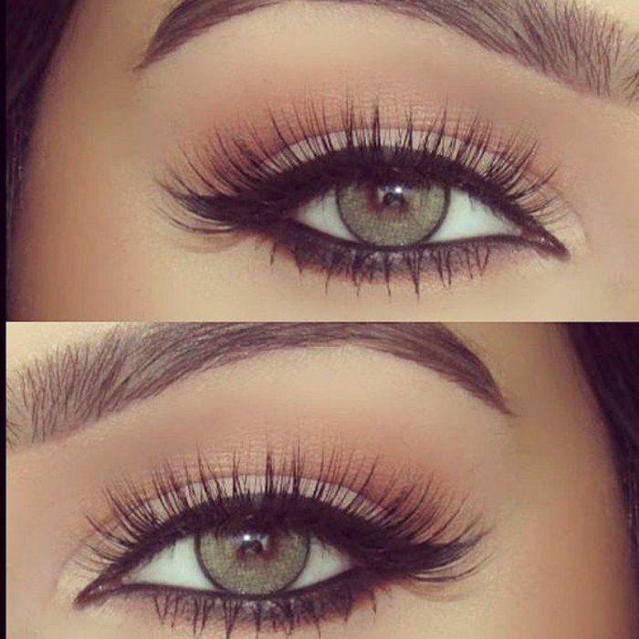 maquillage yeux en amande verts, tuto maquillage yeux verts