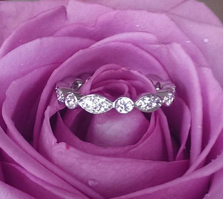 Tiffany & Co 0.62tcw Diamond Full Eternity Band  Jazz  PT950 SZ 5.5 RRP $6900