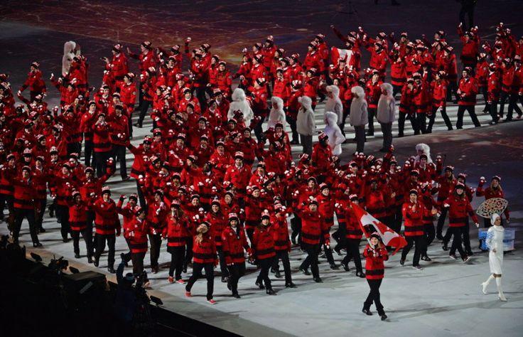 Team Canada Opening Ceremonies