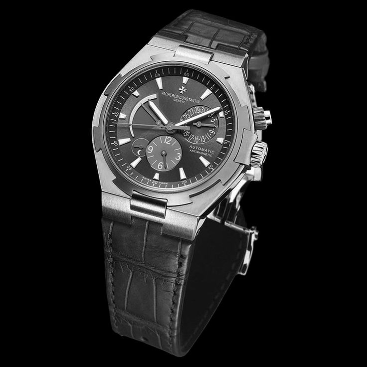 Vacheron Constantin Overseas Dual Time Automatic Steel and Titanium 47450/000W-9511