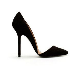 #black #pump #shoes...would break my neck just thinking of walking in these but they are so beautiful. Had to pin