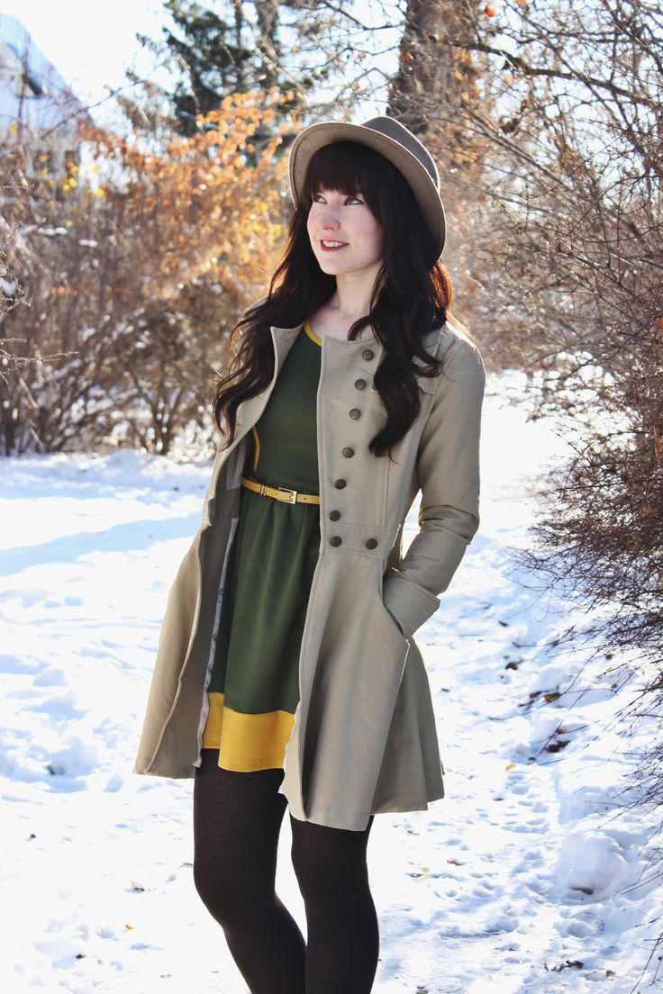 Olive dress from Avenle.com