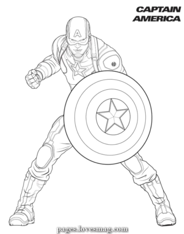 Magical Coloring Pages Superhero Captain America Avengers Coloring Pages Avengers Coloring Captain America Coloring Pages