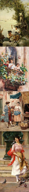 Stefano Novo (Italian, 1862-1927)