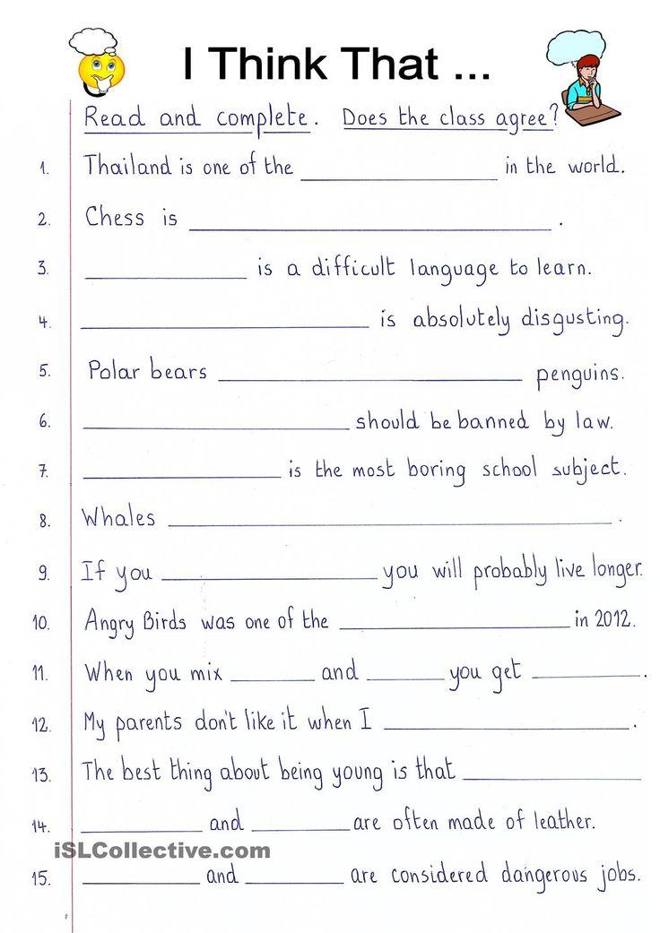Group Writing Exercises 77