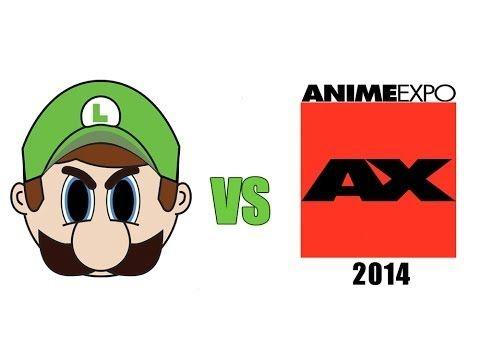 Luigi Death Stare @ Anime Expo 2014 - YouTube