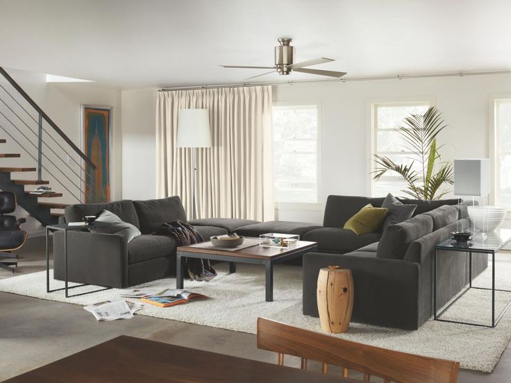 Living Room Arrangements With Two Sofas