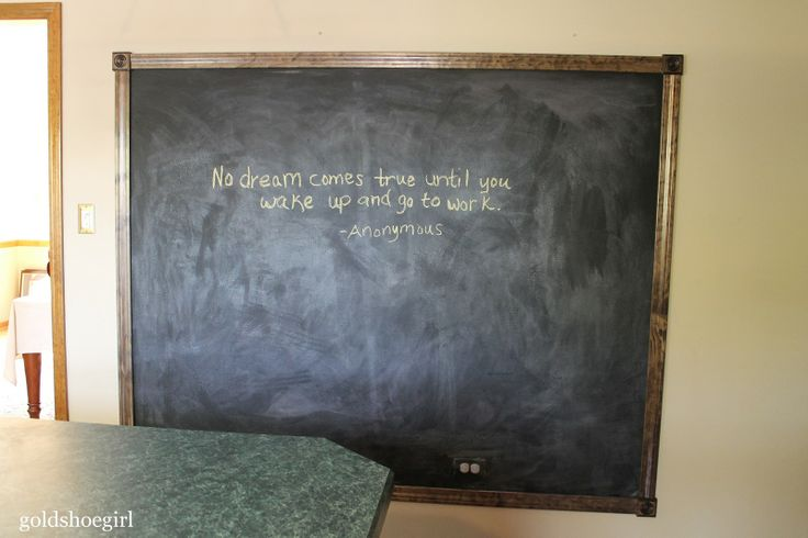 Best 25+ Framed Chalkboard Walls Ideas On Pinterest