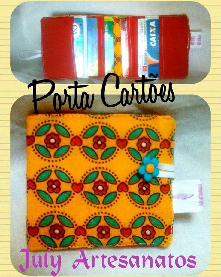 porta cartões passo a passo - (Dia das Mães 5 de 10 ) july artesanatos