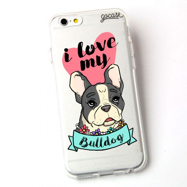 Custom Phone Case My Bulldog