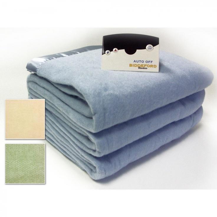 Biddeford Blankets Warming Blanket with Digital Controller Size: King, Color: Cloud Blue - 4304-535D