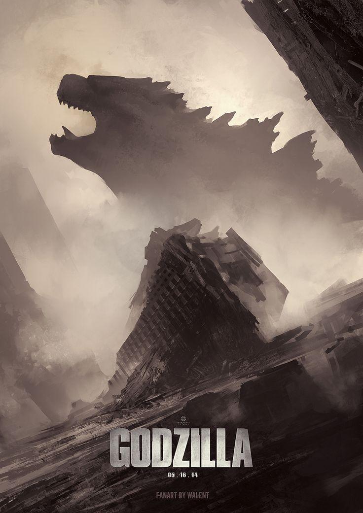 Godzilla Fan Art by Vlad Gheneli CGHUB - Twitter - Facebook