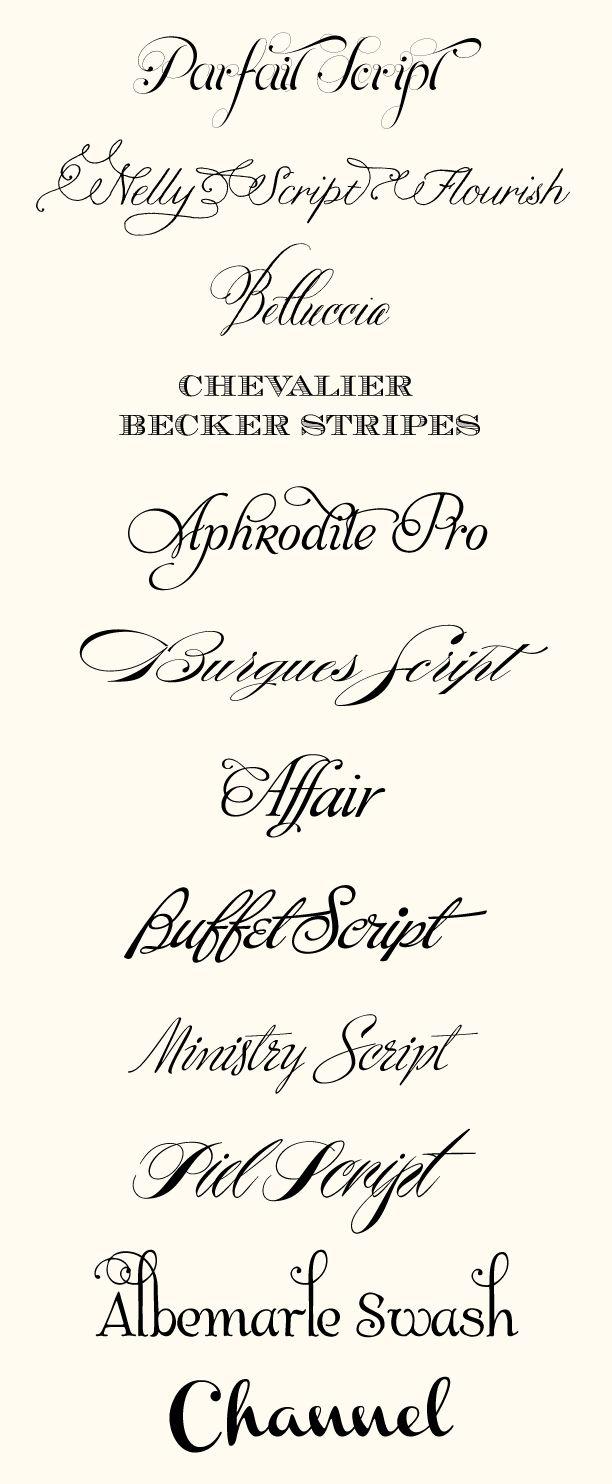59 best Fonts, Notecards & Printables images on Pinterest | Bonjour ...