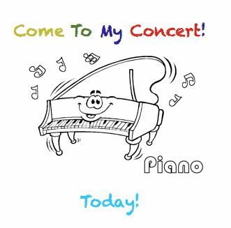 87 best Piano Lessons: Recitals images on Pinterest