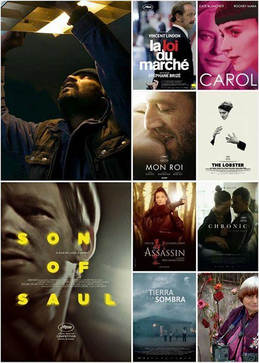 Festival de Cannes 2015 - Palmarès
