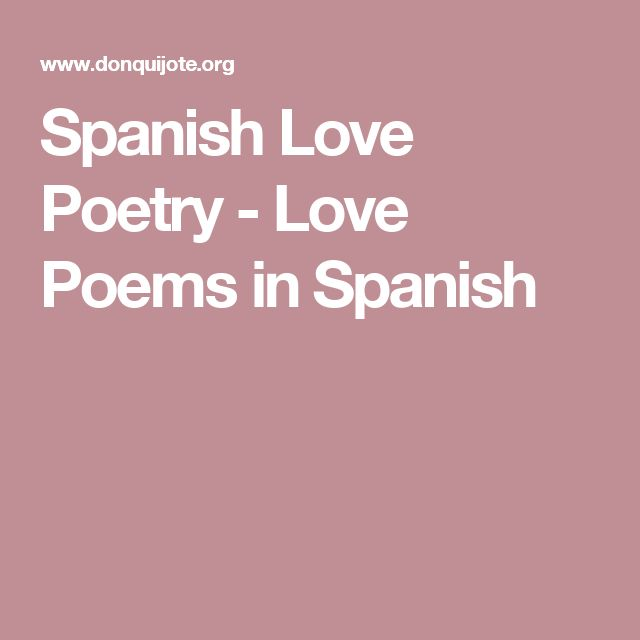 The 25+ best Love poems in spanish ideas on Pinterest | Spanish ...