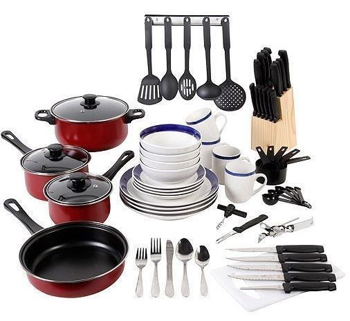 Dinnerware Sets Cookware Set Pots And Pans Kitchen Dishes Flatware Ut