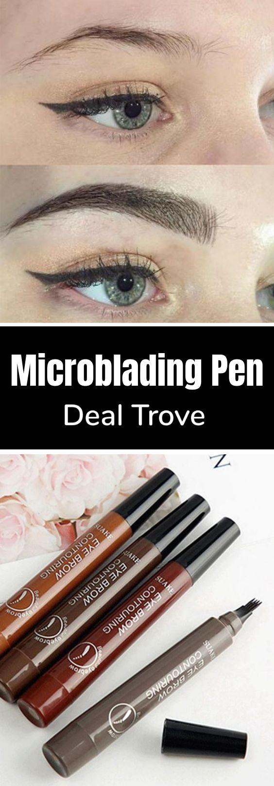 Waterproof Microblading Eyebrow Pen – ⭐⭐⭐⭐⭐ (5/5 Stars)