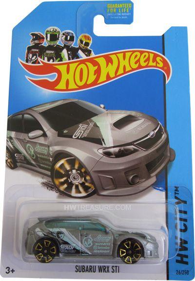 Subaru WRX STI Hot Wheels 2014 Treasure Hunt - HWtreasure.com