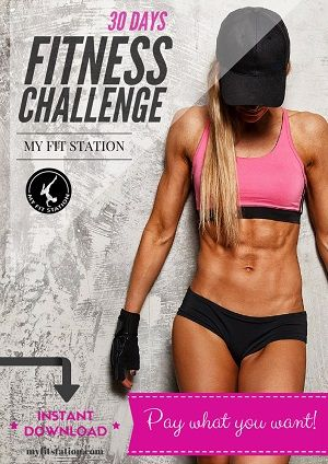 monthly workout calendar Archives - My Fit Station