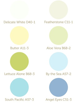Thinking about this color palate for our bedroom