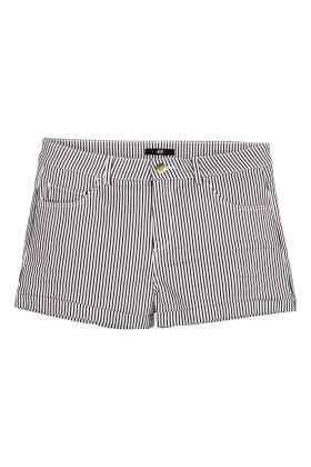 Pantaloni scurţi din twill