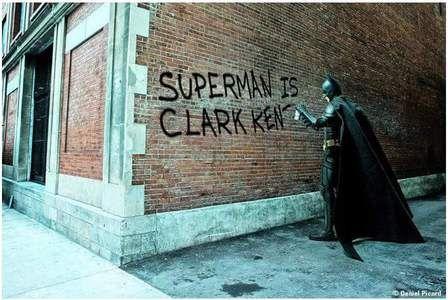 Batman is Bruce wayne