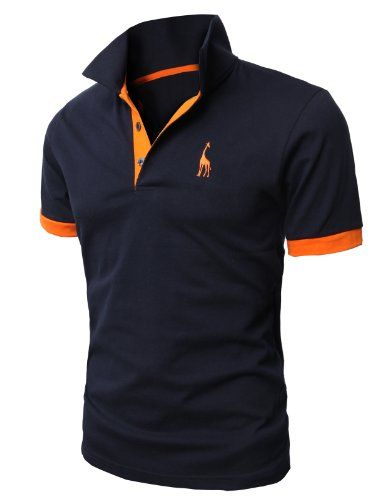 H2H Mens Fine Cotton Giraffe Polo Shirts of Various Colors NAVY US M/Asia XL (JDSK36). Color: JDSK36-NAVY. If you buy these Polo shits, You'll never regret about purchase. US M (Asia XL). JDSK36 NAVY- Color. Soft Elastic Decent slim fit & Button placket & sleeve ribbing with contrast trim. Because it is so nice designed shirts for your daily look. Style no : #JDSK36. Machine Wash / Hand Wash Recommended. Casual Basic Slim Fit Polo Shirts.