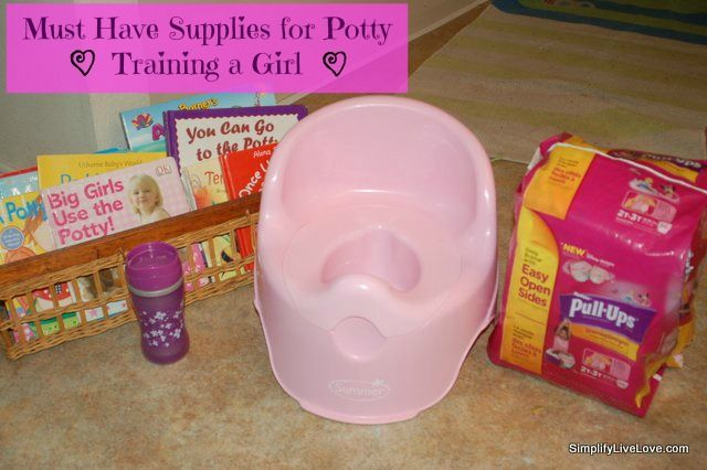 Must Have Supplies for Potty Training a Girl #HuggiesWalmart
