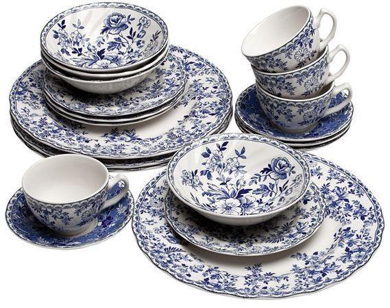 Johnson brothers devon cottage dinnerware collection
