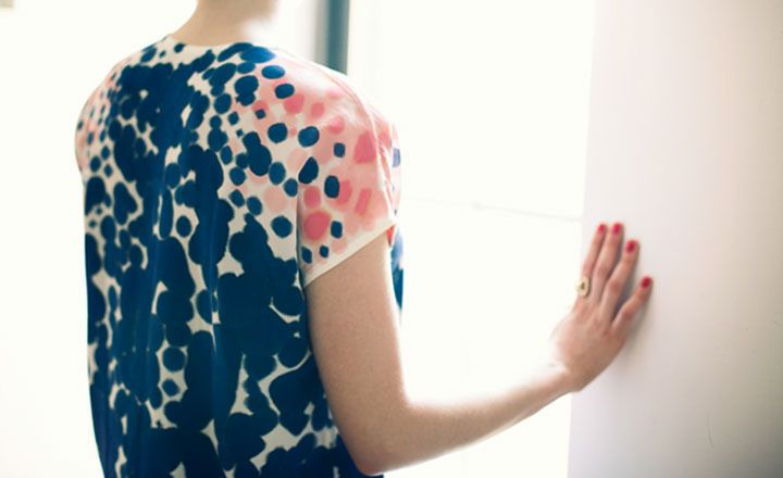 Rachel Rose- Midnight Coral Shirt
