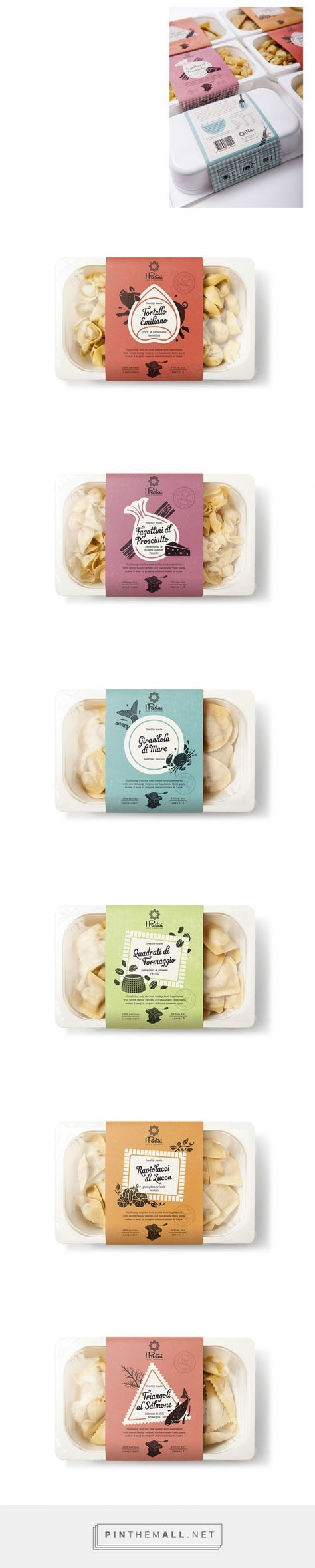 Pasta packaging design, food packaging | Dessein - created via http://pinthemall.net