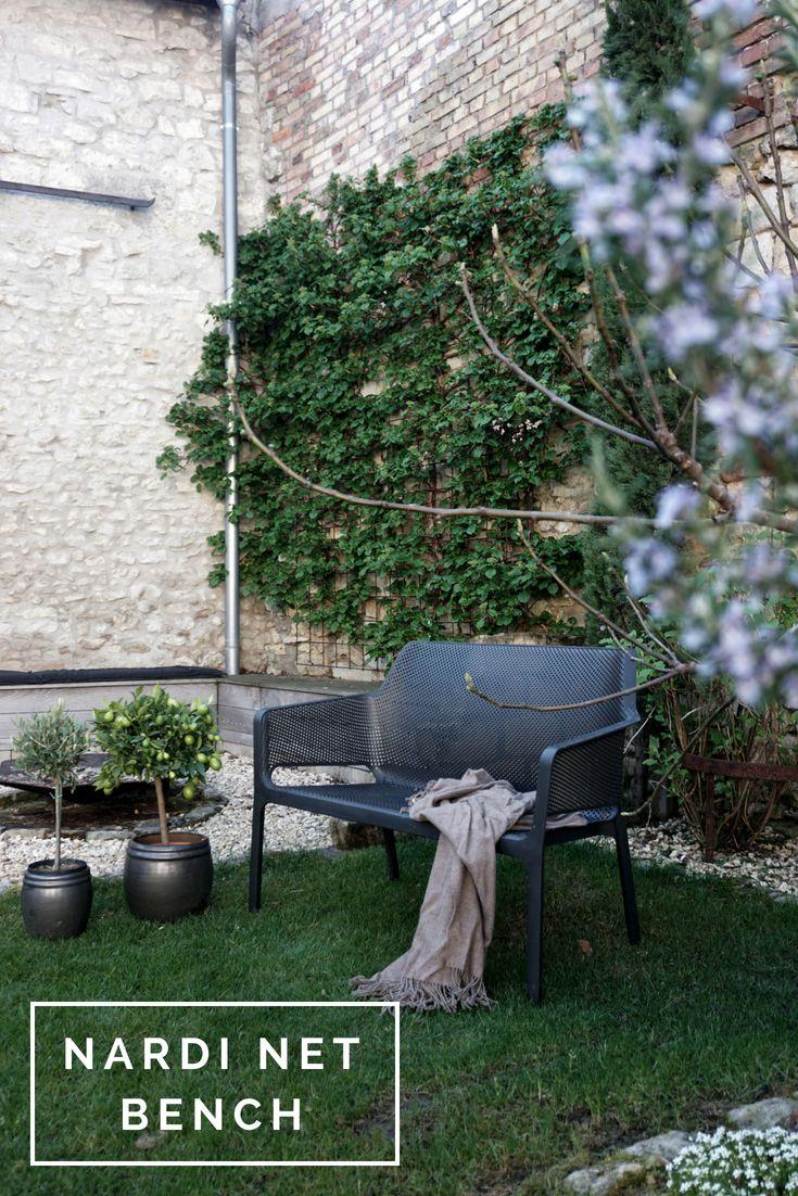 Nardi Net Bench Garten Auszeit Skandinavisches Design