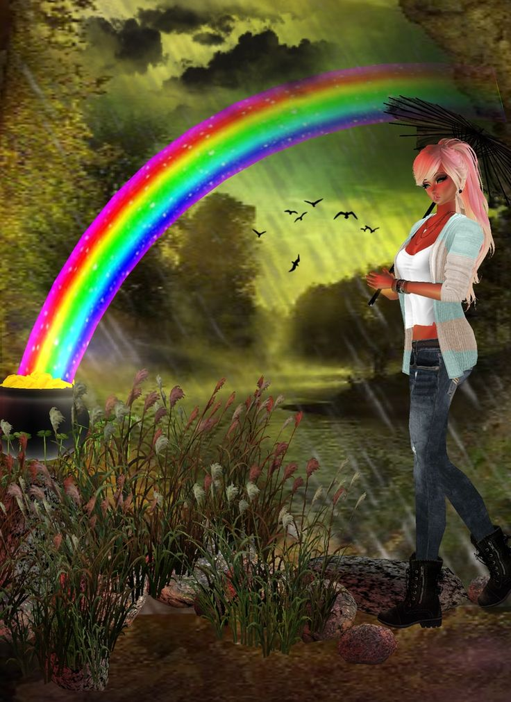 """Be Colorful Like A Rainbow"""