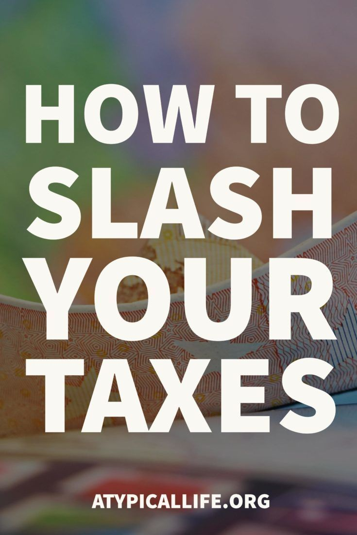 You need to slash your taxes today! Minimize your tax return and tax liability and have more money today.