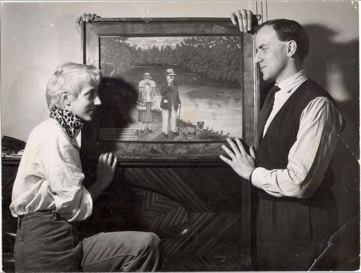 Happy Birthday Boris Vian! (10 March 1920 – 23 June 1959)  Boris Vian was a French polymath: writer, poet, musician, singer, translator, critic, actor, inventor and engineer.  With Ursula Kubler