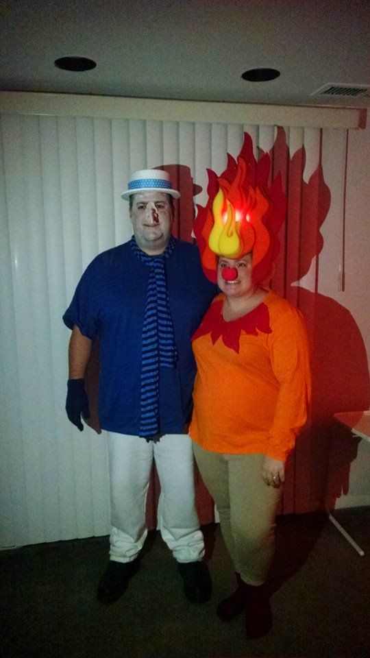 Hair Wig To Diy Halloween Costumes Heat Miser Snow Miser Fire