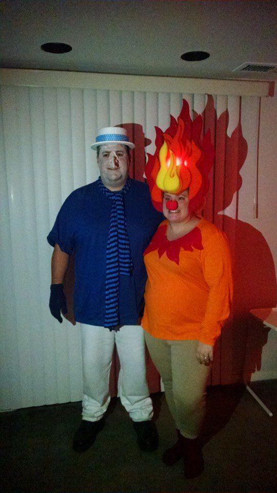 Diy Halloween Costumes Heat Miser Amp Snow Miser Fire