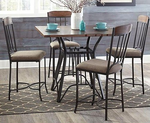 Zanilly Counter Height Dining Room Table
