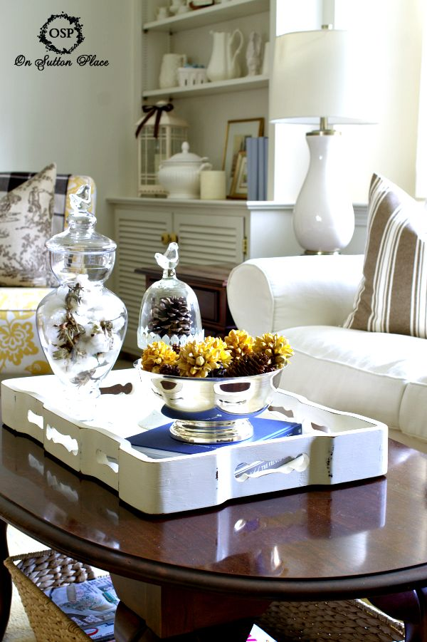 55 best coffee tables decor images on pinterest living - Coffee table ideas for living room ...