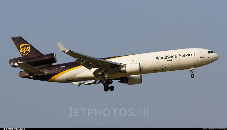 McDonnell Douglas MD-11F, United Parcel Service (UPS), N259UP, cn 48417/467, Cargo, first flight 6/1991 (Thai Airways International), UPS delivered 29.6.2006. Active, for example 29.9.2016 flight Raleigh-Durham - Louisville. Foto: Seoul, South Korea, 13.9.2016.