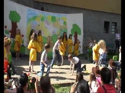 Rebelové MŠ Libušín červen 2013 - YouTube
