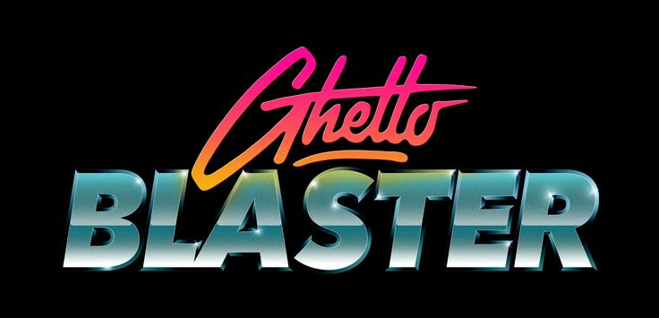 Producer and Dj duo 'Ghettoblaster' logo design  www.totcph.com