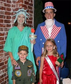 vintage style halloween costume ideas for family