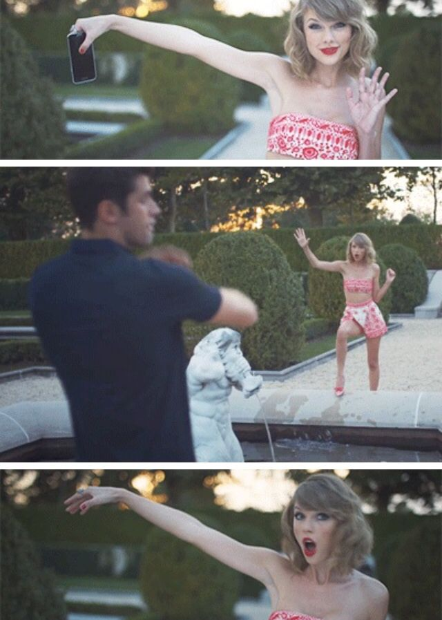 THIS was THE BEST PART OF BLANK SPACE MUSIC VIDEO