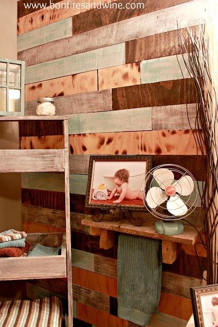 Rustic Bathroom Wall Ideas